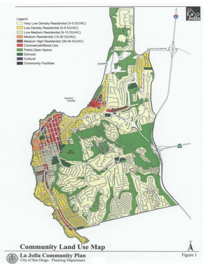 La Jolla Community Land Use Map